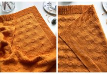 Take a Sunrise Baby Blanket Free Knitting Pattern