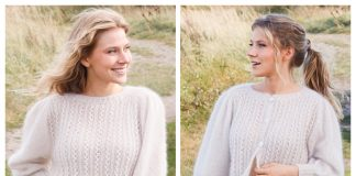 White Water Sweater & Jacket Free Knitting Patterns