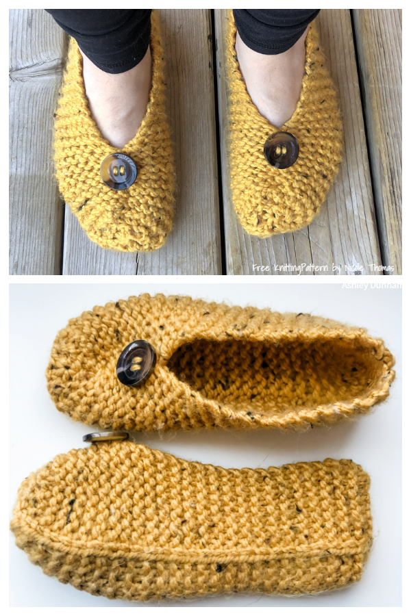 Granny's Favourite Slippers Free Knitting Patterns