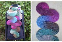 Ten Stitch Wave Scarf Free Knitting Pattern