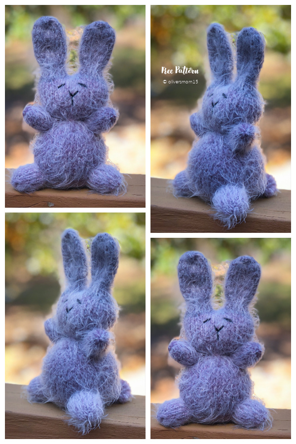 Amigurumi Easter Rabbit Free Knitting Patterns
