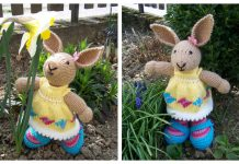 Amigurumi Easter Rabbit Bunny Free Knitting Patterns