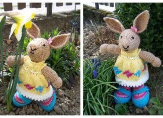 Amigurumi Easter Rabbit Bunny Free Knitting Patterns