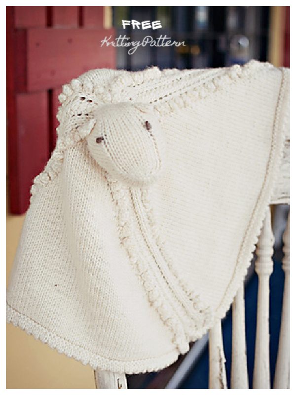 Noopy's Lovey Blanket Free Knitting Patterns