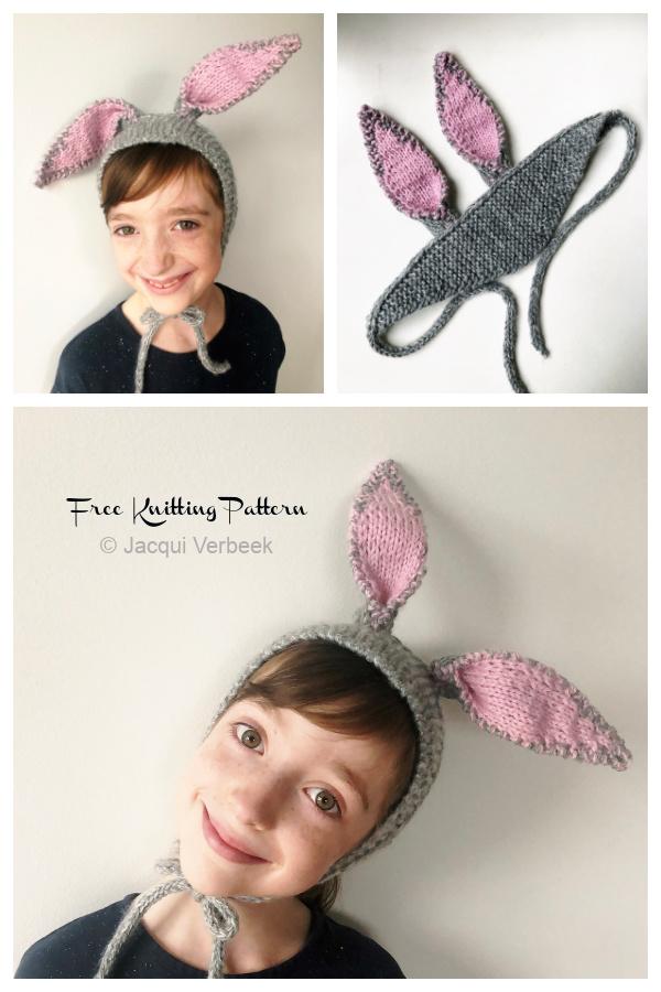 Bunny Ears Free Knitting Patterns