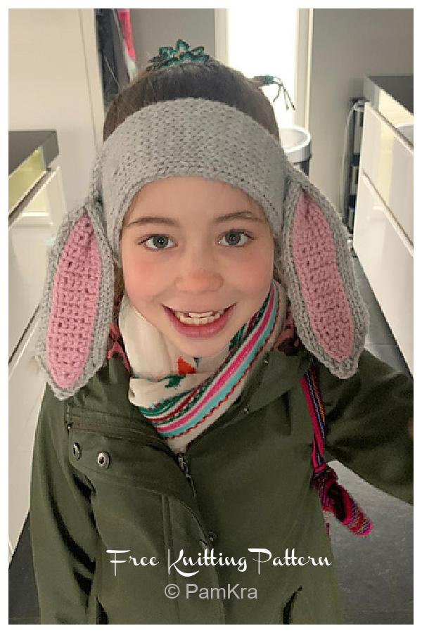 Bunny Ears Headband Free Knitting Patterns