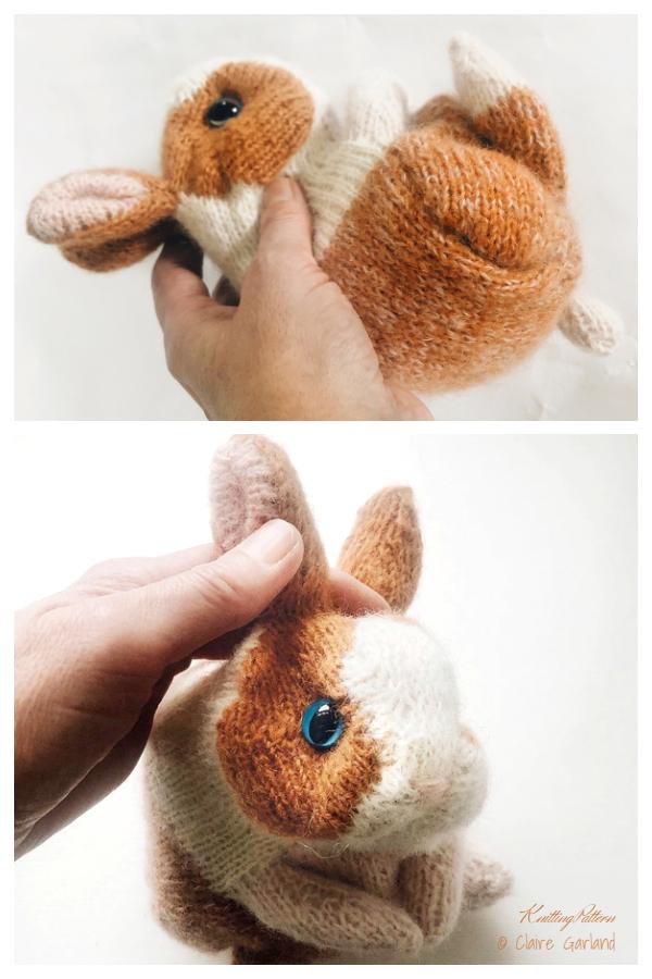 Amigurumi Cinnamon Dutch Bunny Knitting Patterns