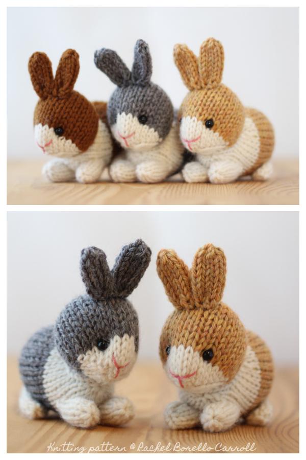 Amigurumi Dutch Rabbits Knitting Patterns