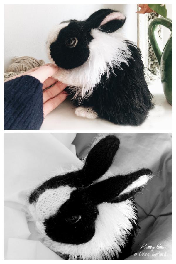 Amigurumi Dutch Bunny Knitting Patterns