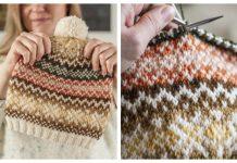 Easy Peasy Hat Free Knitting Pattern