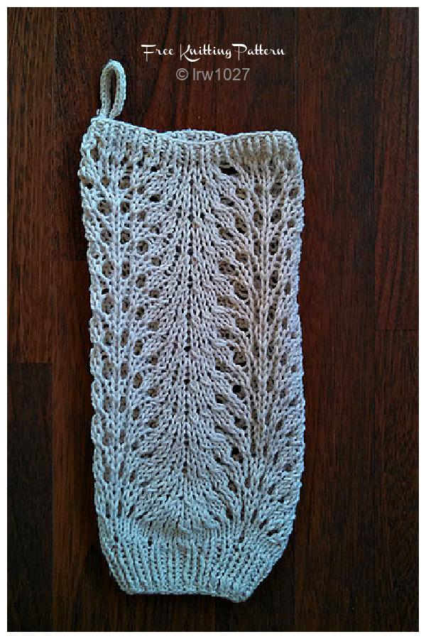 Lace Plastic Bag Dispenser Free Knitting Patterns