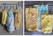 Plastic Bag Dispenser Free Knitting Patterns