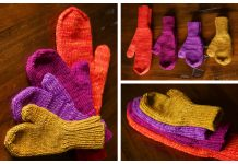 Simplest Mittens Free Knitting Patterns
