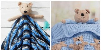 Teddy Bear Lovey Free Knitting Patterns