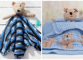 Teddy Bear Lovey Free Knitting Patterns