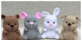Amigurumi Chubbeez Toy Free Knitting Pattern
