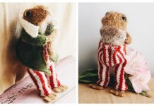 Amigurumi Mr Toad Toy Free Knitting Pattern