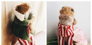 Amigurumi Mr Toad Toy Free Knitting Pattern