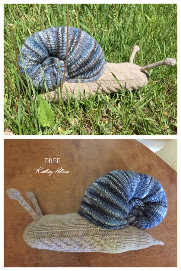Uzorci pletenja bez puževa Amigurumi i plaćeni