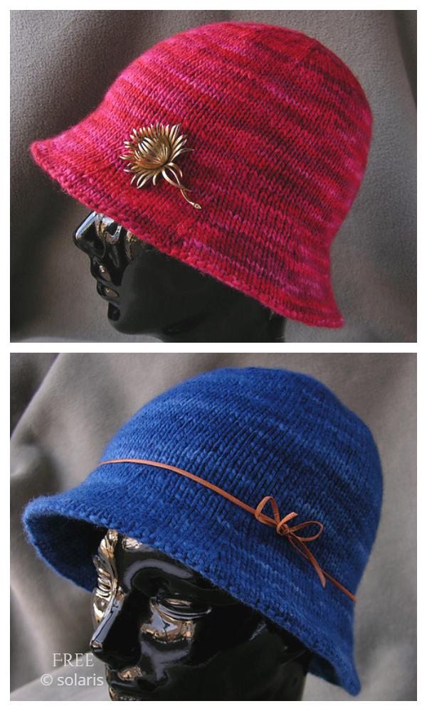 Plesti bolji uzorak za pletenje šešira bez kapa