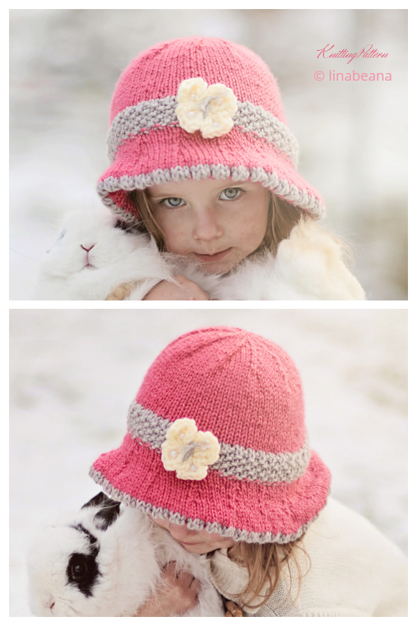 Pletene uzorke pletenja šešira Mary Sun Brim