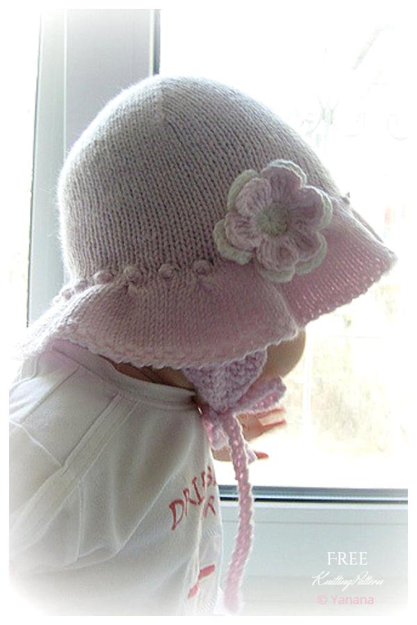 Pletene uzorke za pletenje šešira za Miss Dashwood