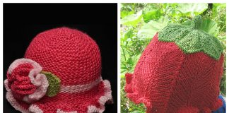 Knit Brim Sun Hat Free Knitting Patterns