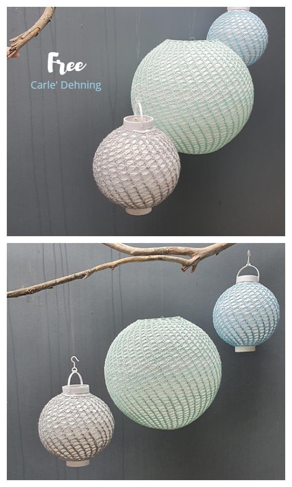Kineski lampioni zasjaju besplatne uzorke pletenja