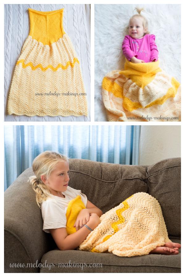 Uzorak dekice s besplatnim pokrivačem za princezu