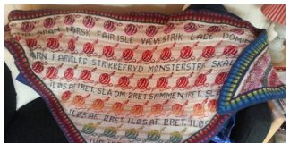Scrap Fair Isle Shawl Free Knitting Pattern