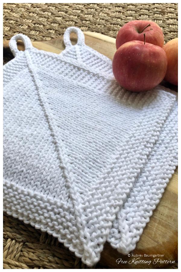 Simple Housewarming Dishcloth Free Knitting Patterns