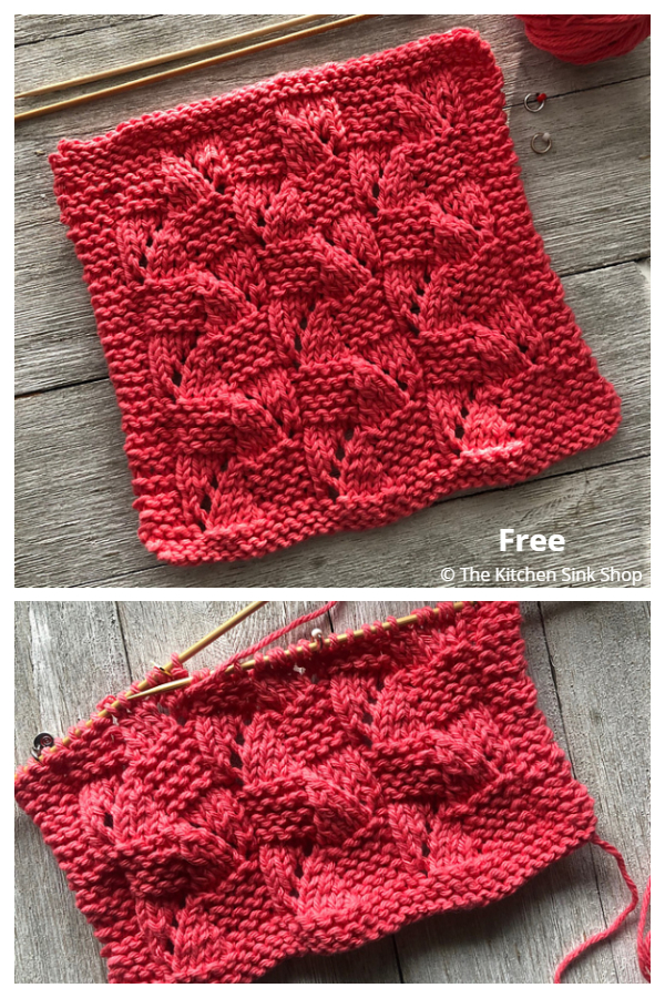 Twist and Shout Dishcloth Free Knitting Patterns