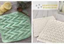 Simple Textured Dishcloth Free Knitting Patterns