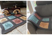 ABC Baby Blanket Free Knitting Pattern