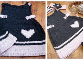 Anouk Baby Dress Free Knitting Pattern