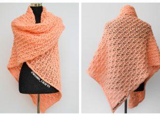 Cozy Blankety Shawl Free Knitting Pattern