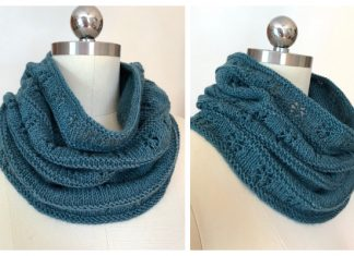 Lace Meila Cowl Free Knitting Pattern