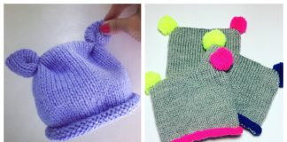 Made With Love Baby Hat Free Knitting Pattern