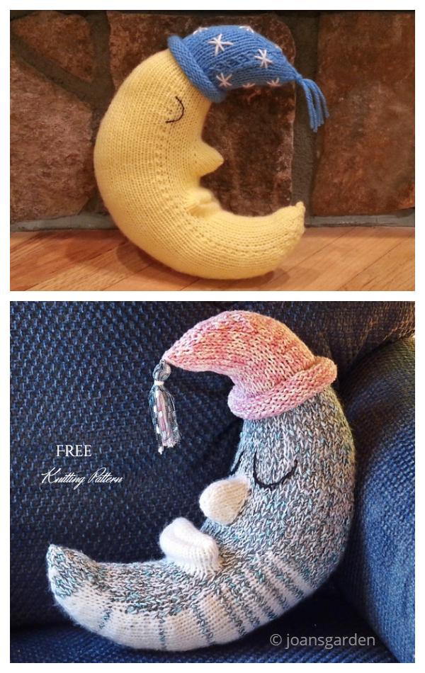 Goodnight Moon Pillow Free Knitting Patterns