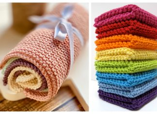 Simple Knitted Dishcloth Free Knitting Patterns