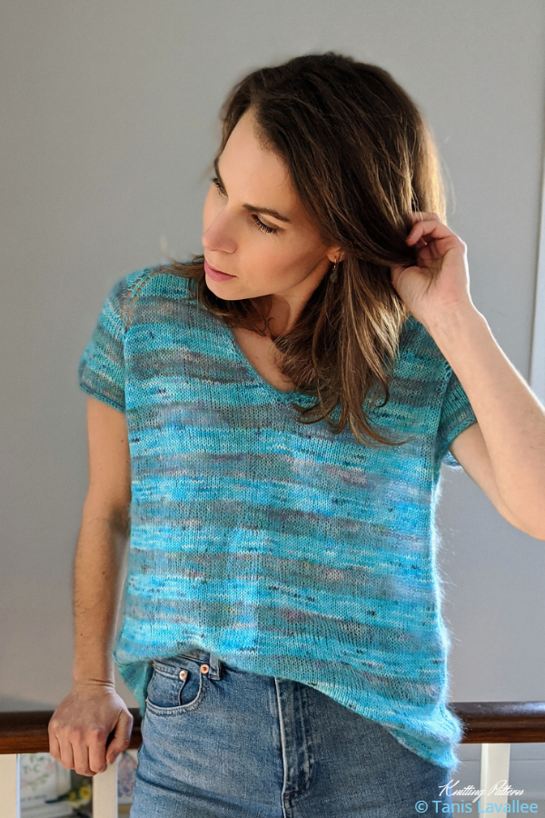 Rock It Tee Knitting Patterns