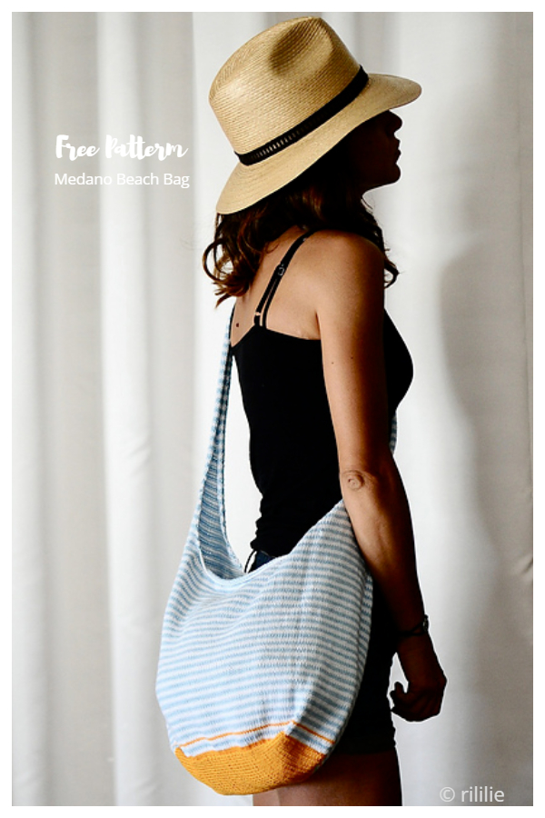 Summer Medano Beach Bag Pattern gratuiti di maglieria