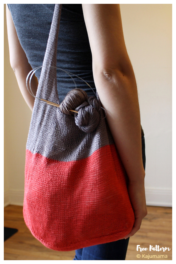 Modelli di maglieria gratuiti per borsa estiva