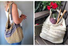 Summer One Shoulder Bag Free Knitting Patterns