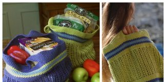 Knit Bring Your Own Bag Free Knitting Patterns