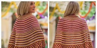 Namorico Half Circle Shawl Free Knitting Pattern