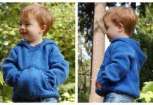 Kids Playtime Hoodie Pullover Sweater Free Knitting Pattern