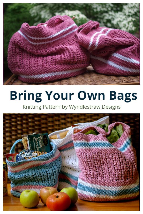 Pletivo Donesite vlastitu torbu Besplatni uzorci pletenja
