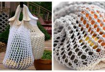 Eco String Market Bag Free Knitting Patterns