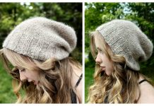 Summer Slouch Beanie Free Knitting Pattern